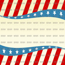 Blue White Red White Blue Flag Patriotic Wave With Stars And Red White Blue Vector Image 942