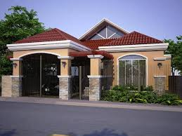 Modern Bungalow House Plans Storey House Design In The Philippines Further Bungalow House Plans