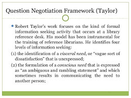 Seeking Negotiation Information Seeking Ppt