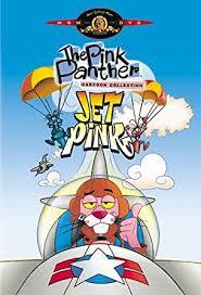 amazon pink panther cartoon collection jet pink gerry