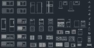 autocad for kitchen design kitchen equipment cad blocks free cad block and autocad drawing