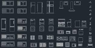 kitchen equipment cad blocks free cad block and autocad drawing
