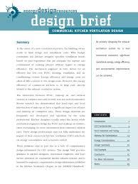 commercial kitchen design guide hvac ventilation architecture