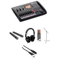 zoom r8 recorder sampler drum machine and stereo mic recording