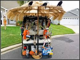 halloween villages the villages florida photos the nolen u0027s halloween golf cart