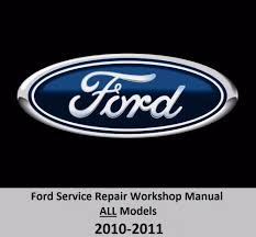 ford all models 2010 2011 service repair workshop manual on dvd ebay