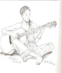 guitar sketch by yunax15 on deviantart