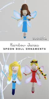 rainbow magic fairy spoon doll ornaments rainbow magic fairies