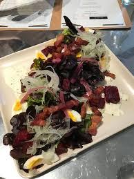 ad hoc cuisine salad at ad hoc in yountville picture of ad hoc