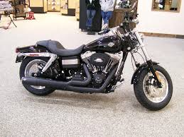 harley davidson 2013 fxdf dyna fat bob with a black vance