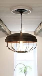 Farmhouse Island Lighting by Ceiling Light Chicken Feeder Pendant Light Industrial Pendant