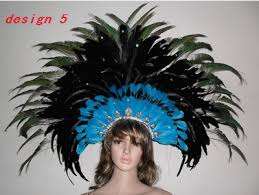 peacock headband many patterns indian chicken peacock headband brazil carnival
