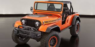 amphibious jeep wrangler jeep went full retro with this sema wrangler concept