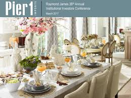 pier 1 imports pir presents at the raymond james 38th annual