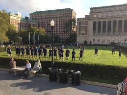 Columbia University Campus Map Football Returns To South Lawn For Final Walk Through Columbia