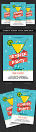 summer party cocktail party flyer party flyer summer parties