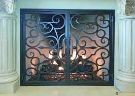 Best Fireplace Screen by Sophisticated Black Iron Fireplace Screen Gallery Best Image