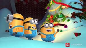 despicable me minion rush christmas 2015 scene youtube