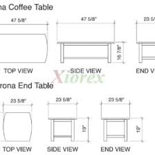 Coffee Table Height Marvellous Standard Coffee Table Height Images Best Inspiration