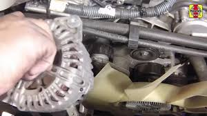 nissan pathfinder 2013 2014 4 0 v6 alternator replacement