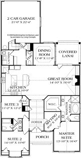 craftsman style house plan 3 beds 2 50 baths 2091 sqft 2200 sf