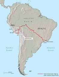 Amazon River World Map by Interoceanic Highway Portuguese Language And Brazilian Studies