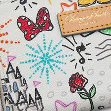 cheapskate princess extravagance disney sketch handbags by dooney