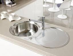 evier rond cuisine évier 1 bac en inox rond avec égouttoir cascade 1 0b astracast