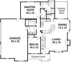 2 bedroom 2 bath house plans plan 1179 ranch style small house plan 2 bedroom split it