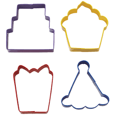 4 pc cookie cutter set wilton