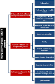 establishing a person centred framework of self identity after