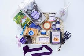 lavender gift basket the luxury lavender collection the hop shop