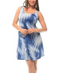 sleeveless dress blue abstract sleeveless dress plus zulily