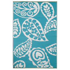 Modern Outdoor Rug by Turquoise And White Rug Roselawnlutheran