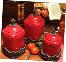 red kitchen canisters red canisters for kitchen main menu vintage red plastic kitchen