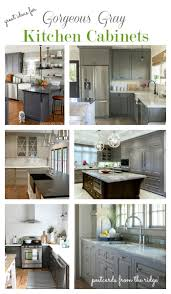 Painted Gray Kitchen Cabinets Great Ideas For Gray Kitchen Cabinets Postcards From The Ridge