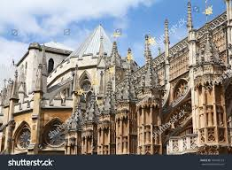 london united kingdom famous westminster abbey stock photo