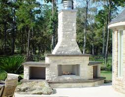 Outdoor Fireplace Houston by Outdoor Fireplaces Outdoor Living Space Design