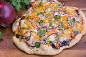 leftover turkey and cranberry bbq sauce pizza festival foods