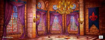 castle backdrop 741d castle ballroom theatrical backdrop rentals by kenmark