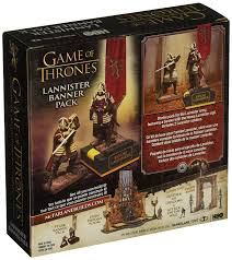 amazon com mcfarlane toys game of thrones lannister banner pack