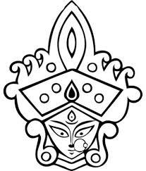 Snapdeal Home Decor Wallmantra Maa Durga With Mukut Wall Decor Wall Sticker Buy