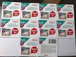 10x coupons tesco pampers premium active fit nappy pants 4