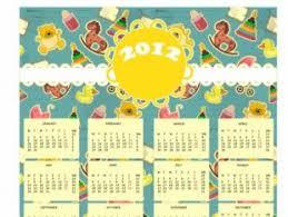 2017 calendar template vector free vectors ui download