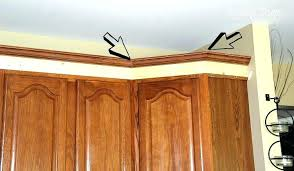 how to install crown molding on cabinets how to cut crown molding for cabinets nabla club