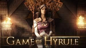 game of hyrule unofficial legend of zelda game of thrones fan