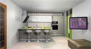 photo de cuisine ouverte sur sejour étourdissant idée de cuisine ouverte avec charmant idee cuisine
