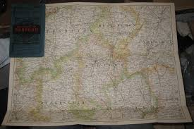 Essex County Map Paper Laminated Reduced Ordnance Map Abebooks