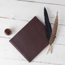 Leather Guest Book Soft Leather Guest Book By Blue Sky Papers