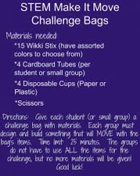 Challenge Directions Stem Make It Move Challenge Directions Here Wikki Stix